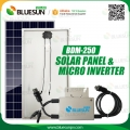 Grid-bundet solenergi inverter 250w