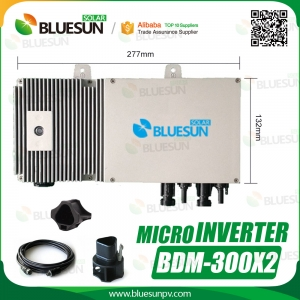 Best Quality Micro Grid-tied PV Inverter 600W for Home/Commerical Use-Bluesun