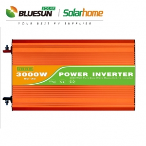 High efficiency 3000w pure sine wave solar inverter 3000 watt off grid dc to ac inverter-Bluesun