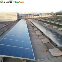 Ballasted Solar Panel Roof Mount and Rack System