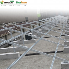 Ground Mount Solar Panels Bracket System Installations