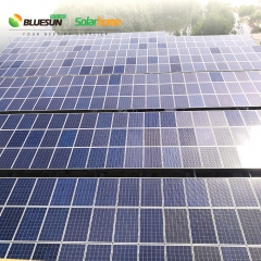 500KW grid tied solar power system power plant industrial commercial use reduce electricity bill