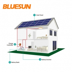 40KW off-grid solar power system 40000w solar system with battery