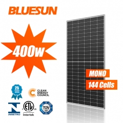Bluesun 144cells solar panel perc cetc solar panel 400w mono solar panel higher efficiency