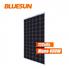 Frameless Bifacial Solar Panel 400w Solar Panel