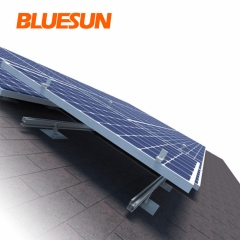 Flat Roof Ballasted Solar System Rooftop